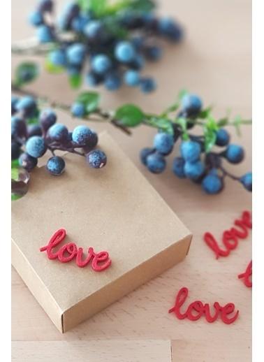 Funbou Keçe Love, Kırmızı / 20 Adet Kırmızı